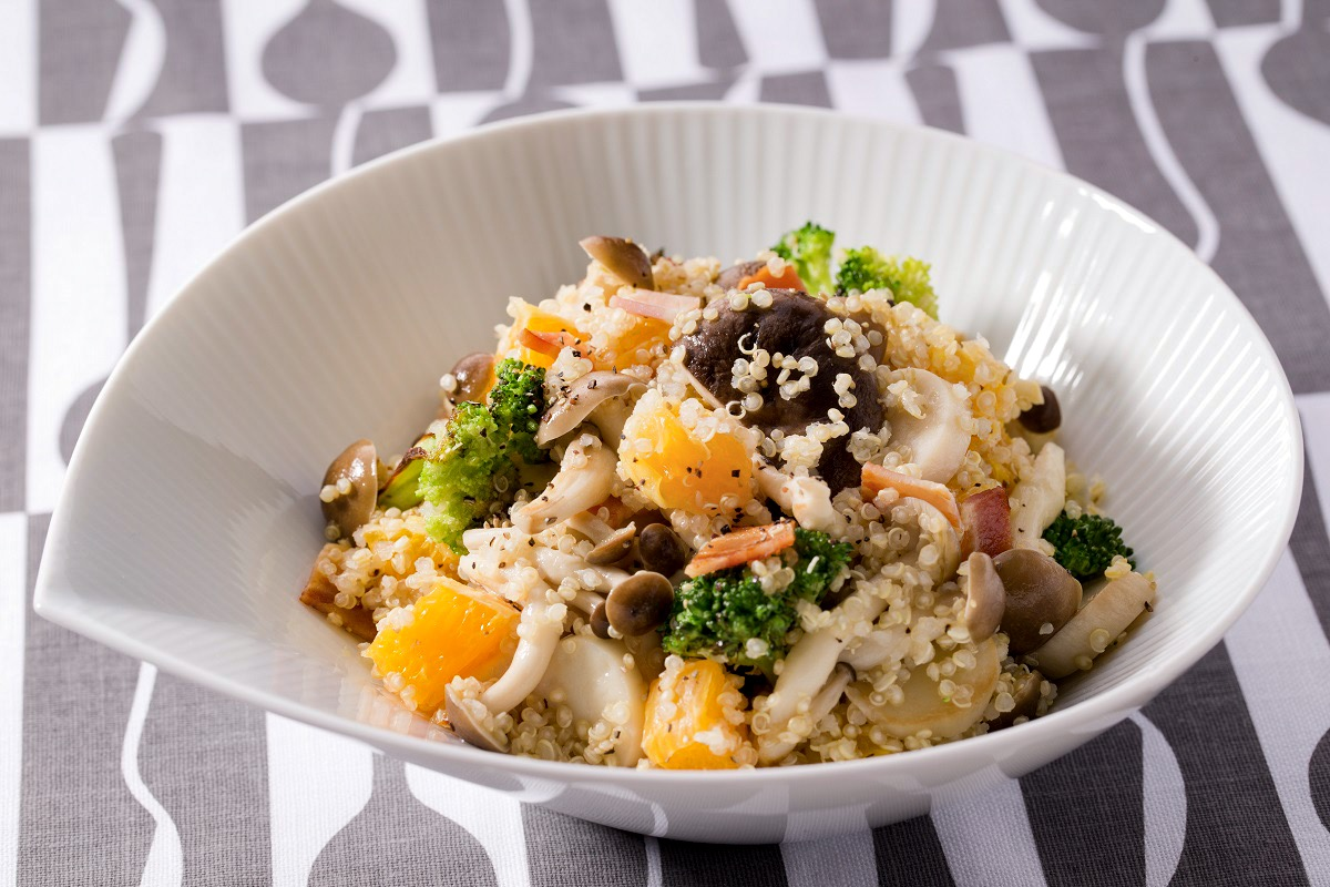 Mushroom and Quinoa Salad