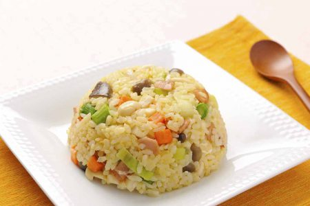 Mushroom egg fried rice