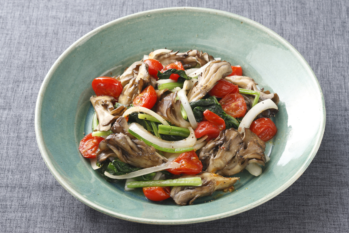 maitake vegetable Stir fry