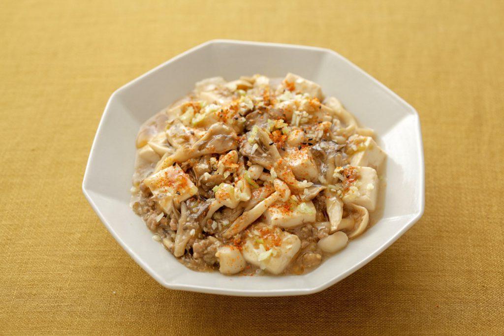 Mushroom Ma-Po Tofu