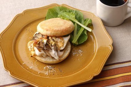 Eryngii Breakfast Sandwich