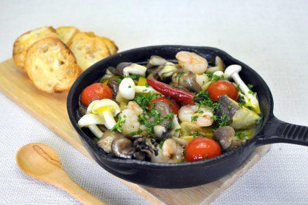 Ahijo of mushrooms