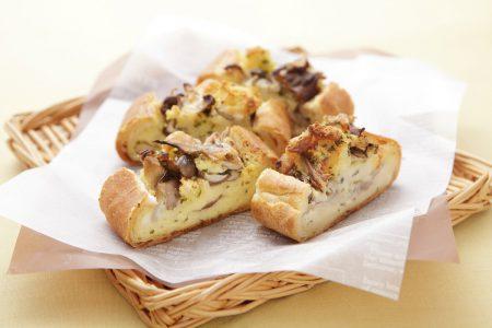french bread quiche
